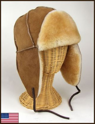 Kodiak Sheepskin Hat: click to enlarge