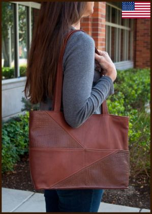 Large Diagonal Tote Bag: click to enlarge