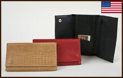 Tri-Fold Wallet: click to enlarge