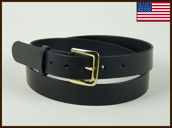 Plain Leather Belt: click to enlarge