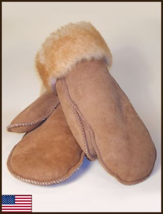 Sheepskin Mittens: click to enlarge