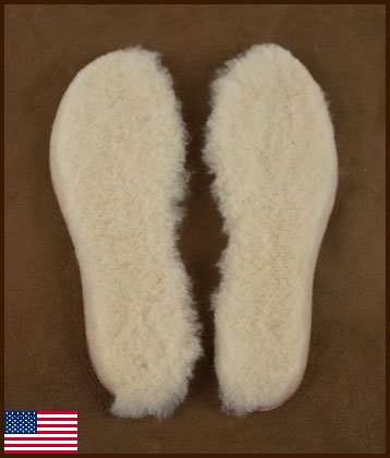 All American Replacement Innersoles, Men's Sizes: click to enlarge
