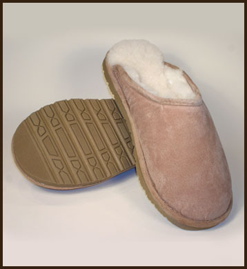 3e27c8a869c Product Details | Woolworks Sheepskin Scuff, Men's | The Leather Works