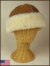 Aspen Sheepskin Hat Short Wool