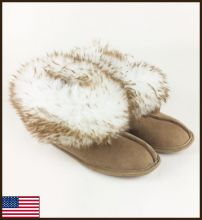 All American Sierra Princess Slipper, Leather Sole