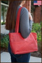 Small Diagonal Tote Bag